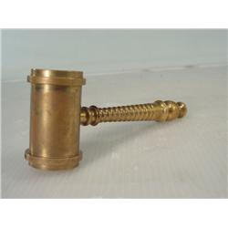 Antique Solid Brass Gavel