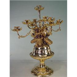 ANNA and the KING 1999 Screen Used Thailand Brass Candelabra
