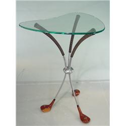 1950's Kidney Shaped Golf Club Table