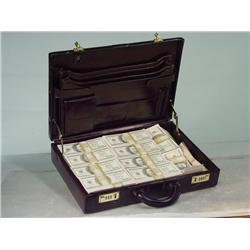 Mister Pink/Brown Suitcase with Prop Money
