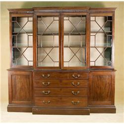 Vintage 1920's Art Deco Styled China Cabinet