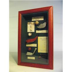 Golf History Shadow Box