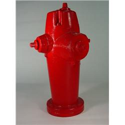 Movie Production Made Fiberglass Red Fireman Fire Hydrant