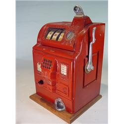 Vinatge Slot Machine Replica Rockola Penny Slot