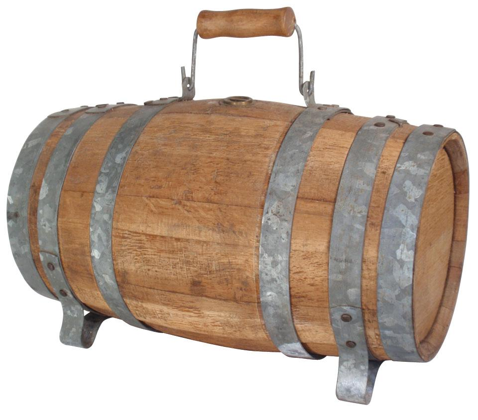 how to open a wooden keg