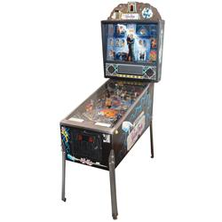 Coin-operated pinball machine, Adams Family, c.1990, Bally Midway Mfg Co., a classic machine w/wonde