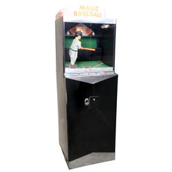 Coin-operated Magic Baseball machine, 10 Cent, mfgd by Sheldon, Dickson & Steven-Omaha, NE, VG worki