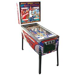 Coin-operated pinball machine, Captain Fantastic by Bally w/Elton John back glass, 25 Cent, 1-4 play