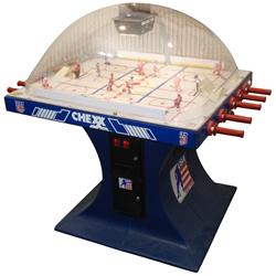 "Coin-operated arcade game, USA Hockey Team, mfgd by Chexx, c.1980's, Exc working cond, 52""H x 54""W x"