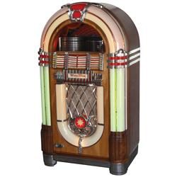 Jukebox, Wurlitzer Model 1015, the most classic jukebox of all time, designed by Paul Fuller, c.1946
