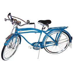 Bicycle, Columbia Clipper custom deluxe, 125th Anniversary Re-issue, complete w/clock, odometer, bel