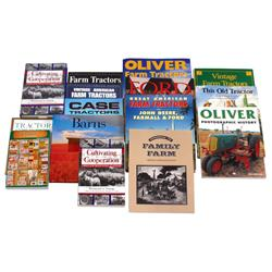 Farming & tractor books (13), Barns, Cultivating Cooperation, Case Tractors, Tractors-A Visual Histo