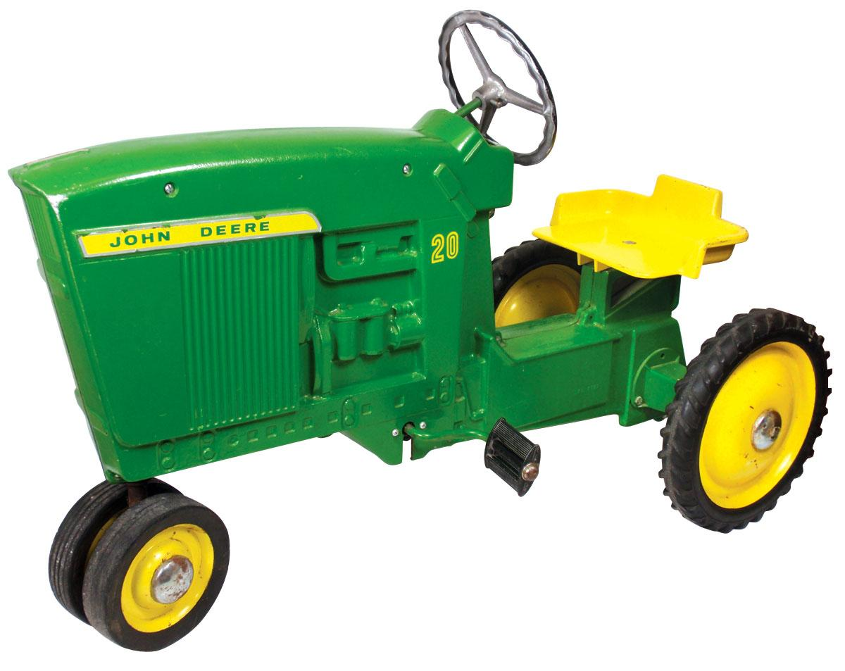 Metal Pedal Tractor Loader : John deere tractor toy ride on wow
