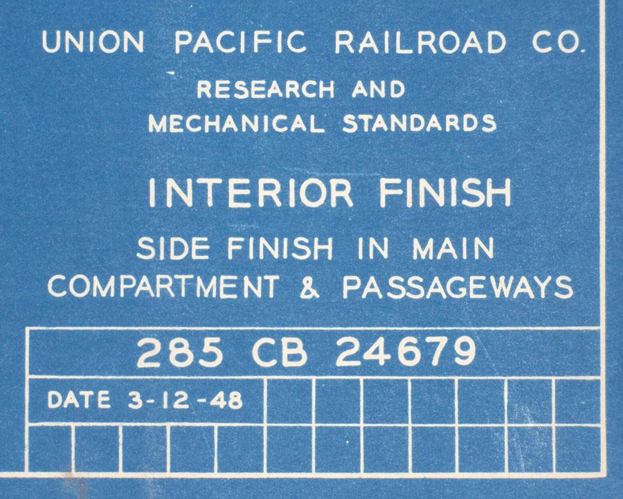 Union pacific railroad co blueprints of diesel electric unit image 1 union pacific railroad co blueprints of diesel electric unit diagrams proposed malvernweather Choice Image