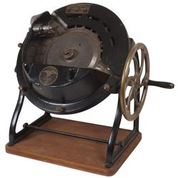 Coin sorter, Standard-Johnson brand, mfgd in Brooklyn, NY, cast iron w/brass wheel, Exc working cond