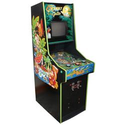 Coin-operated arcade machine, Granny and the Gators video pinball, mfgd by Bally Midway, 25 Cent, no