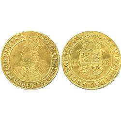 COINS. BRITISH COINS. Elizabeth I (1558-1603), Pound, Sixth Issue (1583-1600), mm tun, crowned long 