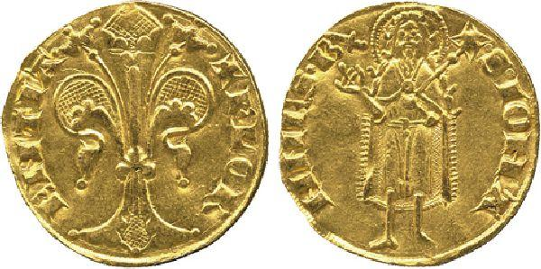 Coins italy florence republic gold fiorino stretto for Coin firenze