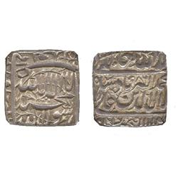 INDIAN COINS. MUGHAL. Akbar, Square Rupee, AH 986, Fathpur, (KM 82.2).  In NGC holder graded MS63.