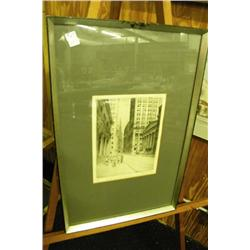 Framed Original Etching By Don Swann -