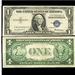 1935F $1 Silver Certificate Crisp Circulated SCARCE (COI-4690)
