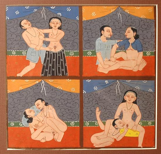 indian painting Erotic