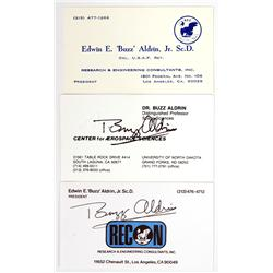 Apollo 11, 1969, Buzz Aldrin Autographs