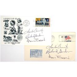 Apollo 12, 1969, Conrad, Gordon & Bean Autographs