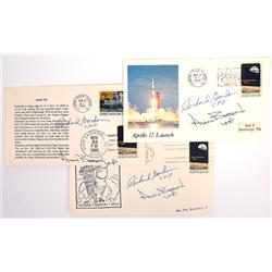 Apollo 12, 1969, Richard Gordon and Alan Bean Autograph