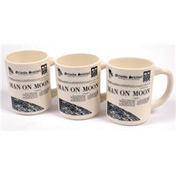 Apollo 11, 1969, Orlando Sentinel Commemorative Coffe