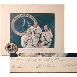 Apollo 14, Crew-Signed Presentation Plaque