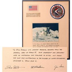 Apollo 15, 1971, FLOWN Beta Cloth Miniature US Flag