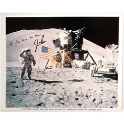 Apollo 15, 1971, Jim Irwin Autograph