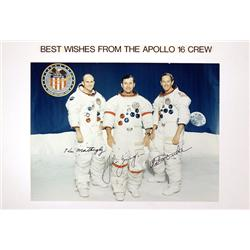 Apollo 16, 1972, John Young, Ken Mattingly and Charlie