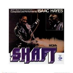 Shaft, Isaac Hayes, Movie Sound Track Poster