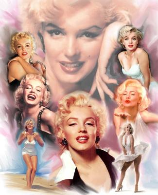 wishum gregory marilyn monroe collage