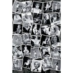 Sam Shaw, Marilyn Monroe Collage. (Large)