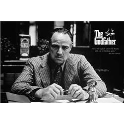 The Godfather: The Family. Marlon Brando. Poster