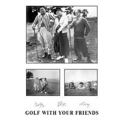 The Three Stooges: Golf With Your Friends. Larry, Moore, & Curly. Montage