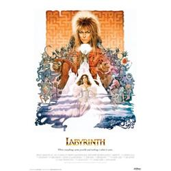 Labyrinth. David Bowie, Jennifer Connelly. Movie Poster