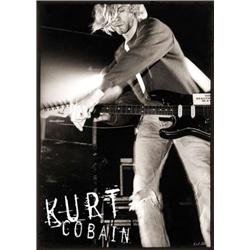 Kurt Cobain on Stage