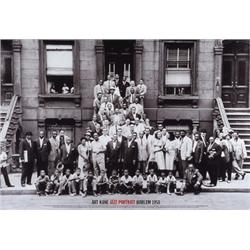 Art Kane, A Great Day in Harlem, 1958. Photograph of Jazz Greats. Monk, Dizzy, Milton, Etc.