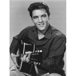 Elvis Presley, Love Me Tender. Glossy Photograph of youn Elvis Presley