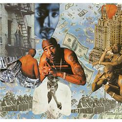 Stanley Ingram, Tupac, Day in Heaven. Montage