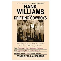 Hank Williams and His Drifting Cowboys, Alabama, 1947