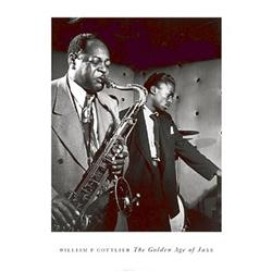 William Gottlieb, Coleman Hawkins and Miles Davis, Golden Age of Jazz