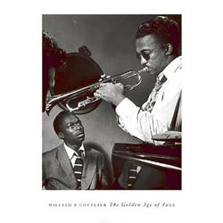 William Gottlieb, Howard McGhee and Miles Davis, Golden Age of Jazz