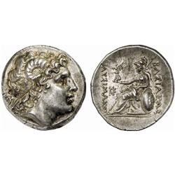 GREEK COINS, KINGDOM OF THRACE, LYSIMACHUS, king 306-281 B.C. Tetradrachm, posthumous, Byzantium,…