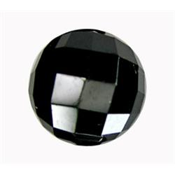 2.4ct Rose Cut AAA Jet Black Natural Diamond (GEM-14321B)