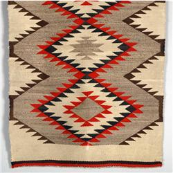 Navajo eye dazzler textile weaving